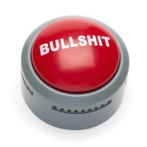 GeschenkIdeen.Haus - Bullshit-Button - Gegen der Ärger & Unwissenheit im Büro