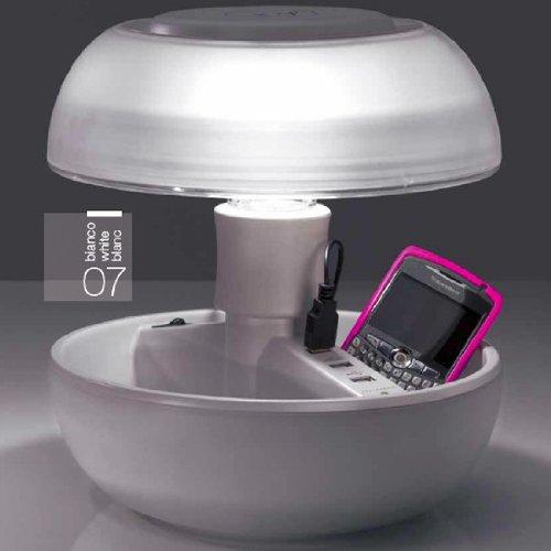 GeschenkIdeen.Haus - JOYO Tischleuchte mit USB-Ladesteckdosen