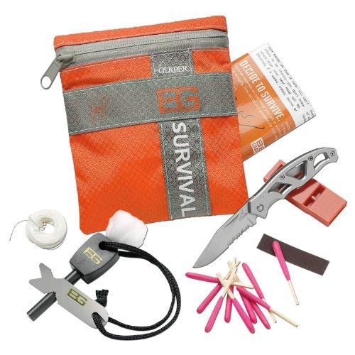 GeschenkIdeen.Haus - Überlebens-Set - Bear Grylls Survival-Kit für Wildnis