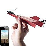 GeschenkIdeen.Haus - PowerUp 3.0 - Smartphone gesteuerter Elektrobausatz für Papierflugzeuge