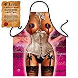 Sexy Frau als Küchenschürze/Grillschürze