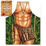 Sexy Küchenschürze/Grillschürze mit Tarzan-Motiv