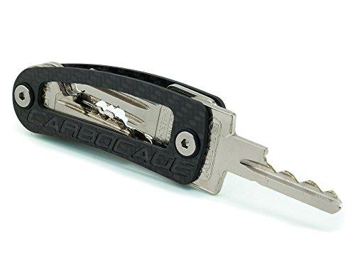 GeschenkIdeen.Haus - Carbocage Keycage: Schlüssel kompakt verstauen