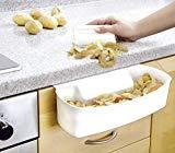 GeschenkIdeen.Haus - Auffangschale für Küchenabfälle - inklusive Schaber
