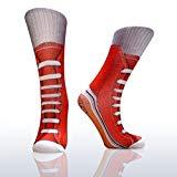 Sneaker Socken - Turnschuhe im fotorealistischen Design