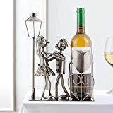 Metall-Flaschenhalter -Liebespaar-