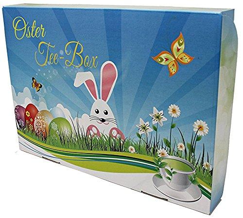 GeschenkIdeen.Haus - Oster Tee-Box - tolle Box mit 8 zauberhaften Teesorten