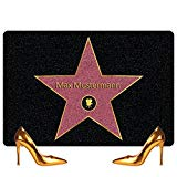 Walk of Fame - Personalisierte Hollywood-Fußmatte mit Namen