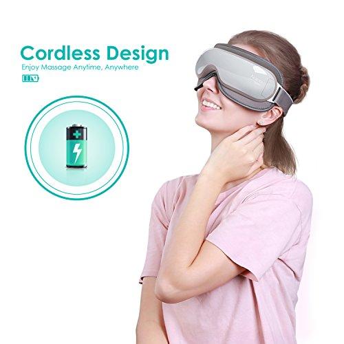 GeschenkIdeen.Haus - Massagegerät für die Augen mit Wärmefunktion