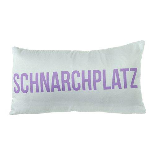 GeschenkIdeen.Haus - Deko-Kissen Schnarchplatz für Sofa, Bett usw.