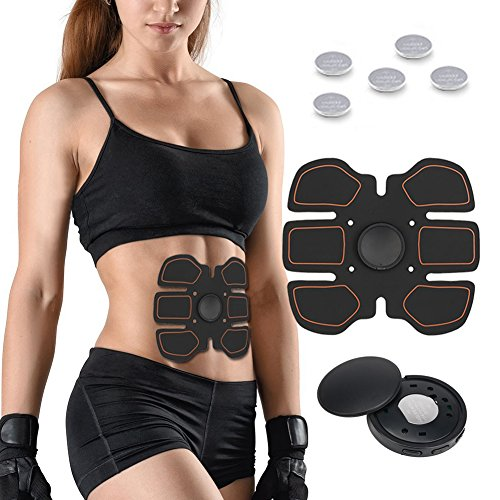 GeschenkIdeen.Haus - Muskelstimulator - Mit Elektro-Pads & ohne Training Muskeln aufbauen