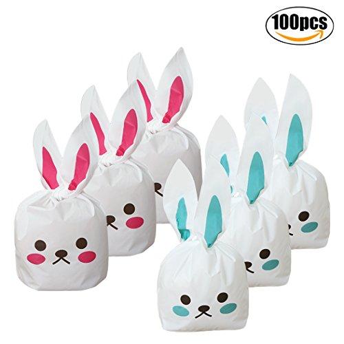 GeschenkIdeen.Haus - Kaninchen Süßigkeiten-Verpackung für Ostern - Für Gepäck und Schokolade