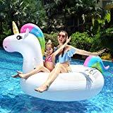 Einhorn Luftmatratze für Pool und Meer - originelles Wasser Spielzeug
