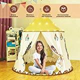 Kinderzelt Tipi Zelt für Kinder - Mädchen Jungen Indoor & Outdoor
