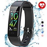 Fitness Armband / Fitness Uhr mit Blutdruckmessung, Pulsmesser, - wasserdicht